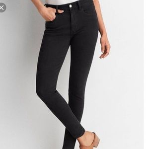 American Eagle Regular Black Skinny Leggings Jeans